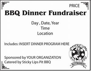 bbq tickets template - chicken bbq fundraisers rochester ny sticky lips pit bbq