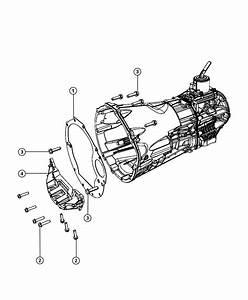 Jeep Wrangler Shield  Spacer  Clutch Housing Dust  Dust Clutch Housing
