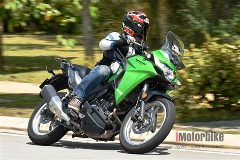 Kawasaki Versys X 250 Picture by Kawasaki Versys X Light Is Right Imotorbike News