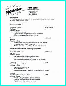 Computer Skills Resume Example Cocktail Server Resume Skills To Convince Restaurants Or Café