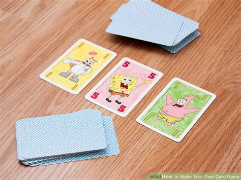 3 Ways To Make Your Own Card Game Wikihow