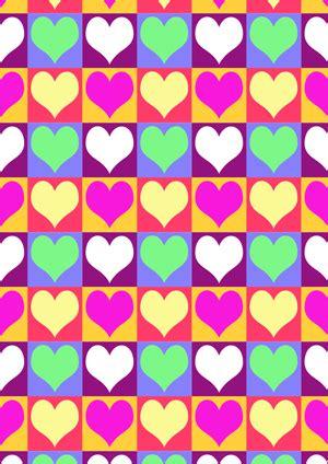 diy geschenkpapier drucken zum valentinstag basteln