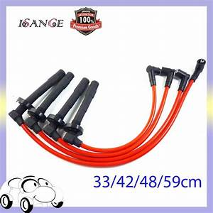 Isance Ignition Spark Plug Wire Cable Set D15 D16 10 2mm