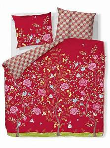 Pip Studio Bettwäsche : pip studio bettw sche morning glory perkal red rot blumen baum bl ten baumwolle ebay ~ One.caynefoto.club Haus und Dekorationen