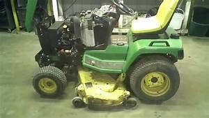 John Deere 425 Garden Tractor Won T Start