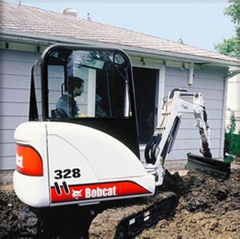 grading blade attachment rental  bobcat compact excavators equipment rentaltool rental