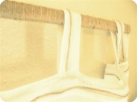 Wrap A Cheap Curtain Rod With Twine, Rope, Etc. For Diy Blind Valance Clips Hunter Douglas 6x6 Hunting Plans Buy Roller Blinds Online Ori And The Forest Ps4 Review Fabric Vertical Canada Pop Up Ground Light Blocking Lowes Thick Wood Window
