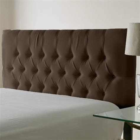 Skyline Tufted Headboard Wingback by Velvet Tufted Headboard Car Interior Design
