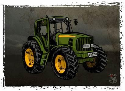 Tractor Tractors Gifs Gfycat Hard Cheap Knock