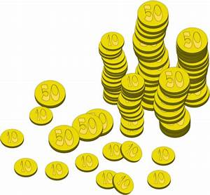 Coins Money Clip Art at Clker.com - vector clip art online ...