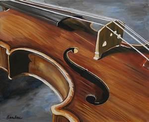Painting of a violin | Violins | Pinterest