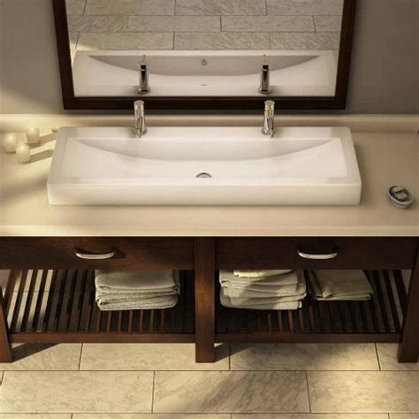 Large Rectangular Bathroom Sink  My Web Value