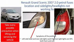 Renault Grand Scenic  Side Lights