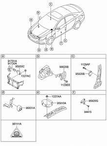 954703q000 - Hyundai Receiver Assembly