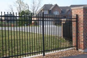 montage plus residential and commercial ornamental steel fence ameristar fence products call