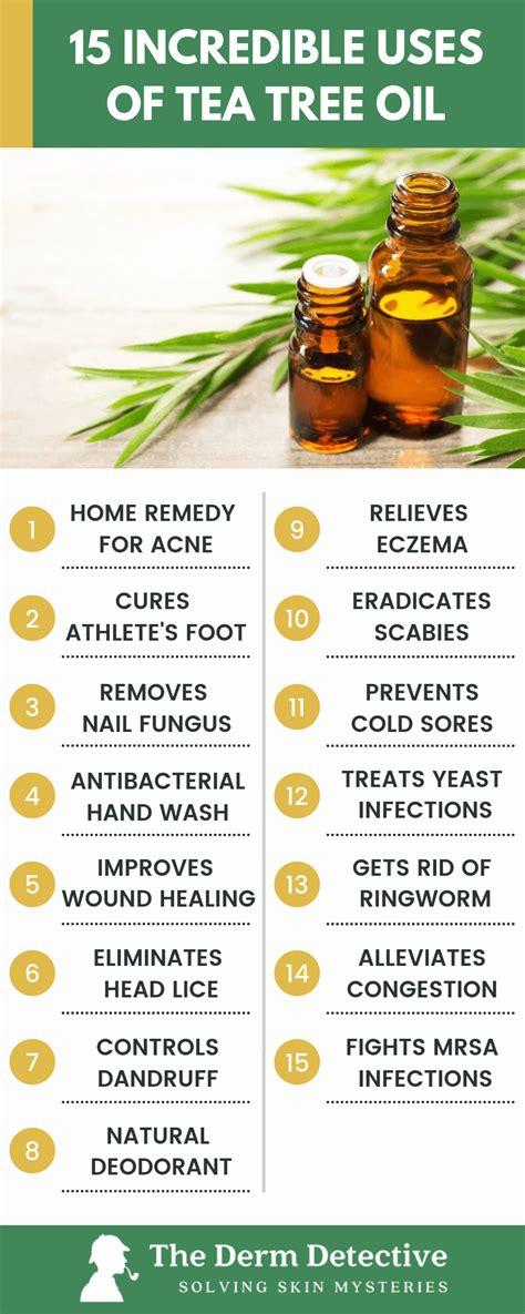 incredible ways   tea tree oil