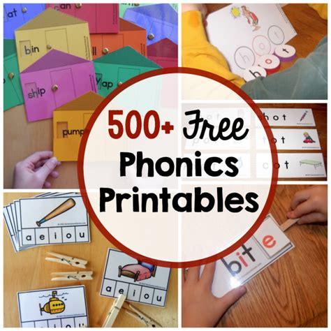 phonics activities the measured 853 | 500 free phonics printables 590x590