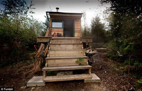 Tim Sands Woodland Retreat Featured On Channel 4's