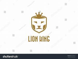 Lion King Logo Vector Template Stock Vector 581363617 ...