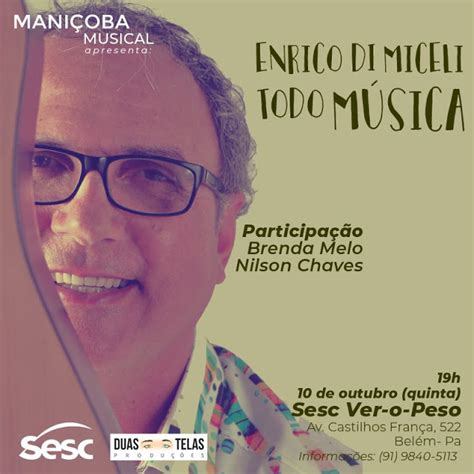 foto de Enrico Di MIceli lança Todo Música em Belém no projeto