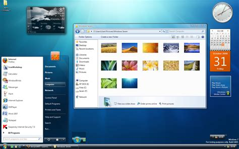 gadget bureau windows comment installer un gadget pour windows 7 gadgetak en