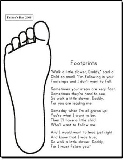 footprints poem for s day preschool items juxtapost 235 | l e8a99850 887c 11e1 a7e1 3b1aa0a00001