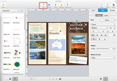 How To Make Powerpoint Brochure How To Do A Brochure How To Make Attractive Brochures For