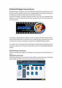 Dvd Fab Dvd Ripper Featured Review