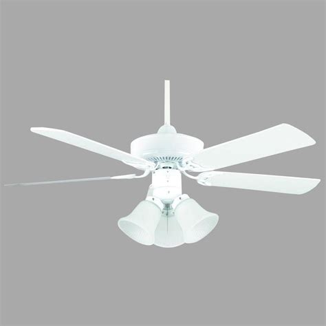 progress lighting airpro hugger 42 in white ceiling fan