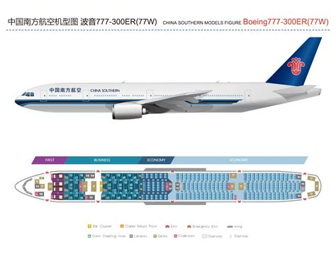 777 cabin layout cabin b777 300er 77w china southern airlines