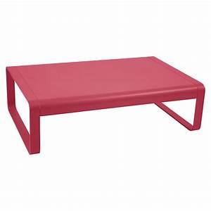 Table Basse Rose : table basse bellevie de fermob rose praline ~ Teatrodelosmanantiales.com Idées de Décoration