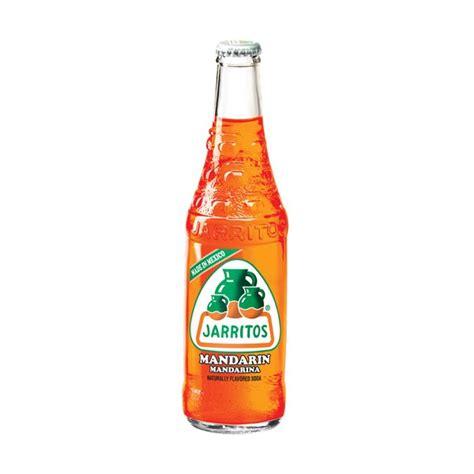 Jarritos   Mandarin 370ml Glass Bottle   USA Foods