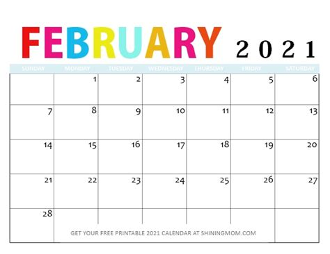 Tamil daily calendar 2021 each day characteristic nall palan. FREE Printable February 2021 Calendar: 12 Awesome Designs!
