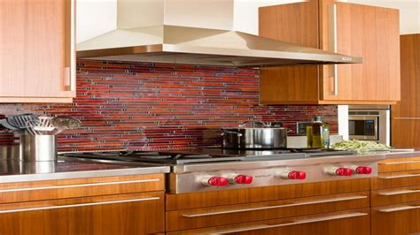 Colorful Backsplash, Backsplash With Uba Tuba Kitchen