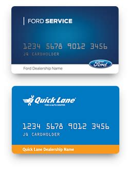 Ford Service Credit Card Payment Address   Infocard.co