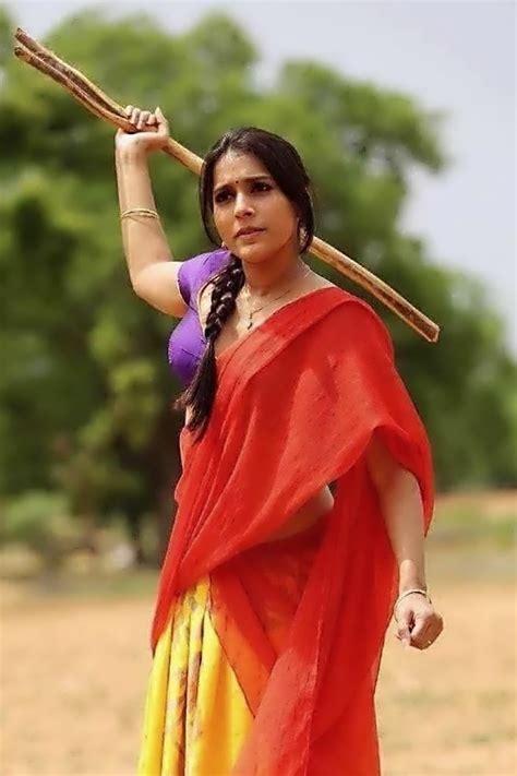 rashmi gautam cutest in saree pics