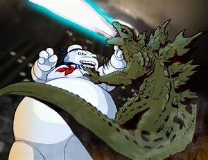Marshmallow Man vs Godzilla DReager1's Blog