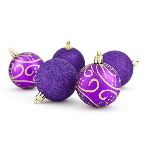 purple christmas ornaments all things in lavender