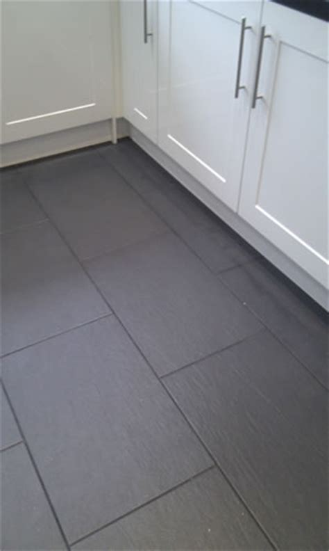 floor tiles slate nero tile black slate effect porcelain