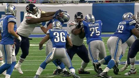 lions  called   hands   face penalty committed