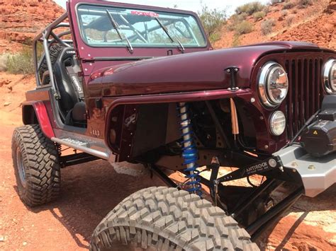 jimmys  jeep cj  road modification dixie  wheel