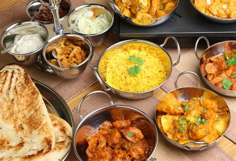 indian restaurant with flavours tastes of indian food are delicious and complex