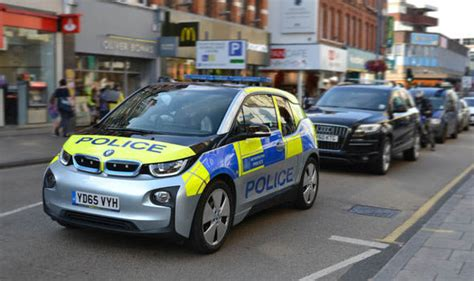 police      electric cars bmw