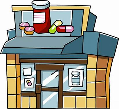 Clipart Pharmacy Building Scribblenauts Wikia Revision