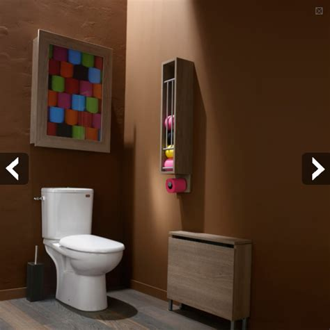 wc toilettes couleurs ton sur ton