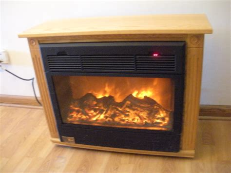Heat Surge Amish Electric Fireplace Heater 32 X