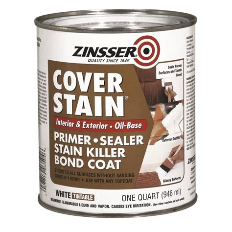 zinsser cover stain interiorexterior high hiding oil