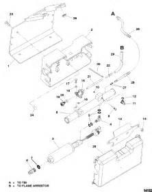 Fuel Pump And Fuel Cooler For Mercruiser 5 0l Efi Alpha
