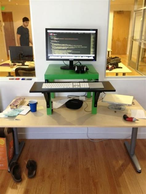 Standing Desk Conversion Kit Ikea by 17 Best Images About Standing Desk Diy On Ikea