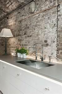Steintapete Weiß Grau : die besten 25 steinwand wohnzimmer ideen auf pinterest steinwand tv wand beleuchtung und tv ~ Sanjose-hotels-ca.com Haus und Dekorationen